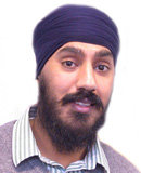 Portrait of Sukdeep Dhillon.